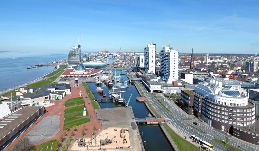 Bremerhaven an der Nordseeküste